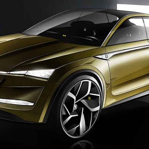 Skoda's Vision E begins the company's all-electric future plans