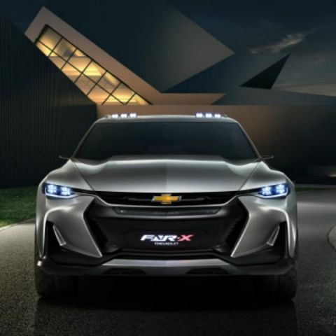 The technology inside Chevrolet's FNR-X concept covers almost everything you can think of