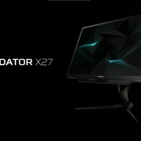 Predator X27 and Z271UV gaming monitors with Quantum Dot Technology announced at next@acer