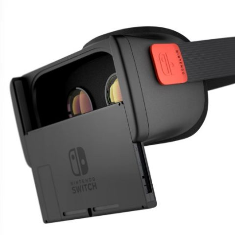 A gamer made his own Nintendo Switch VR headset