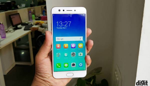 Oppo F3 with dual front cameras launched at Rs. 19,990