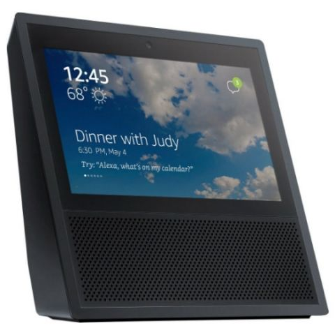 Images of Amazon Echo speaker with touchscreen leaked