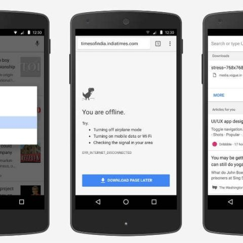 Google Chrome for Android adds new long-press function for downloading web pages