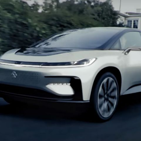 Faraday Future shows that it is still alive with new video of the FF91