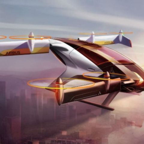 Airbus Vahana, the self-flying electric air taxi, may just be how we travel in near future