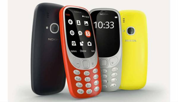 Nokia 3310 launched at Rs. 3,310 in India, available from May 18