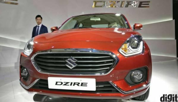First Look: 2017 Maruti Suzuki Dzire