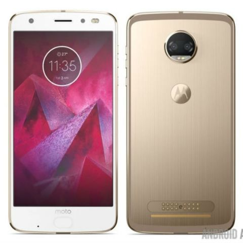 Renders of Moto Z2 series leaked, Moto Z2 Force tipped to come with dual-rear camera setup