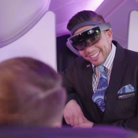 Air New Zealand wants to use Microsoft HoloLens to make in-flight experience better