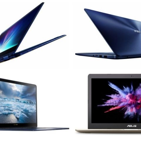 Asus unveils three ZenBooks, two VivoBooks at Computex 2017