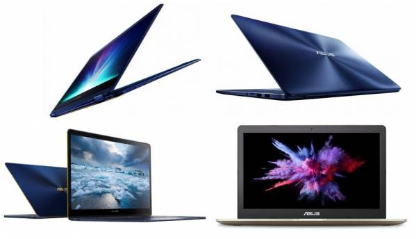 Asus unveils three ZenBooks, two VivoBooks at Computex 2017