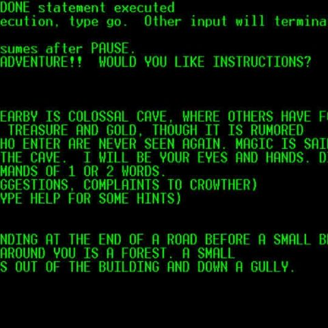 You can now access open source code for the first ever text-based game