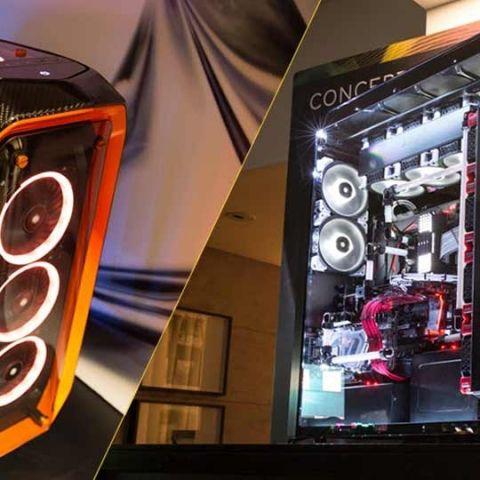Corsair at Computex 2017: Concept Curve, Concept Slate, SYNC IT and new liquid cooling options