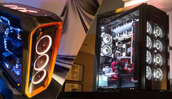 Corsair at Computex 2017: Concept Curve, Concept Slate, SYNC IT and new liquid cooling options