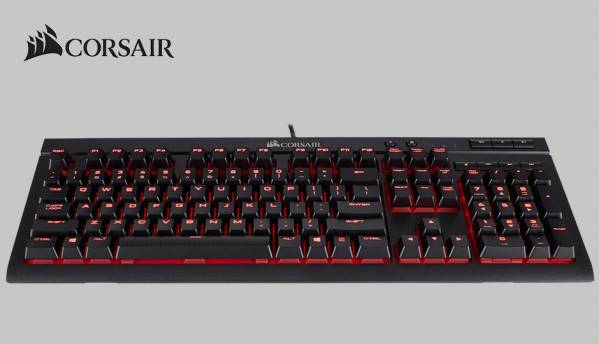 Dust and spill resistant Corsair K68 Gaming Keyboard launched at Computex 2017