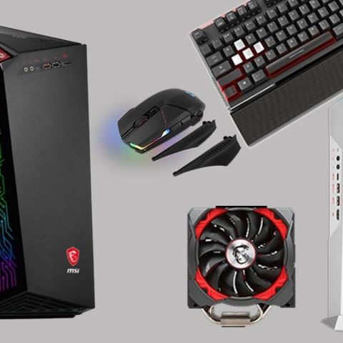 MSI introduces all new gaming desktops and peripherals at Computex 2017