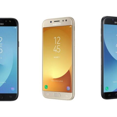 Samsung Galaxy J3 (2017), Galaxy J5 (2017), Galaxy J7 (2017