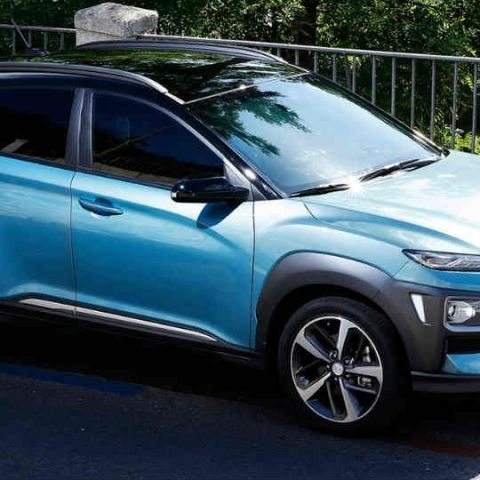 Technology inside the 2018 Hyundai Kona SUV: In Pictures