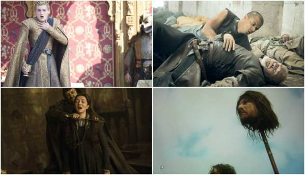 Watch all the 150,966 deaths across the Game of Thrones series in this bumper supercut