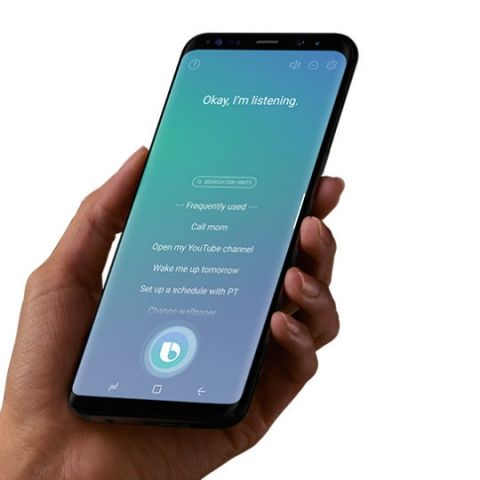 Samsung begins roll out of Bixby voice feature to select Galaxy S8 users