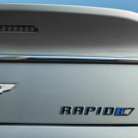 Aston Martin to produce its first EV, RapidE, in 2019