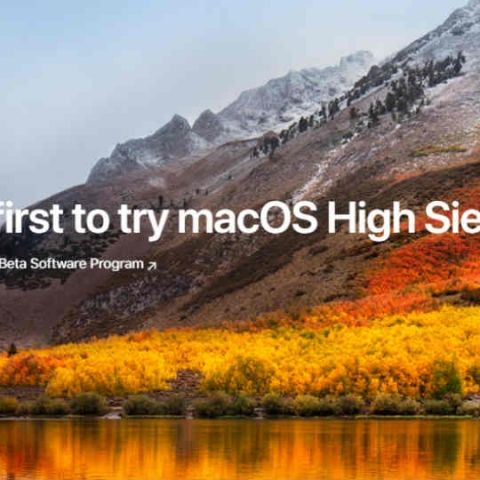 Apple's macOS High Sierra public beta now available for download