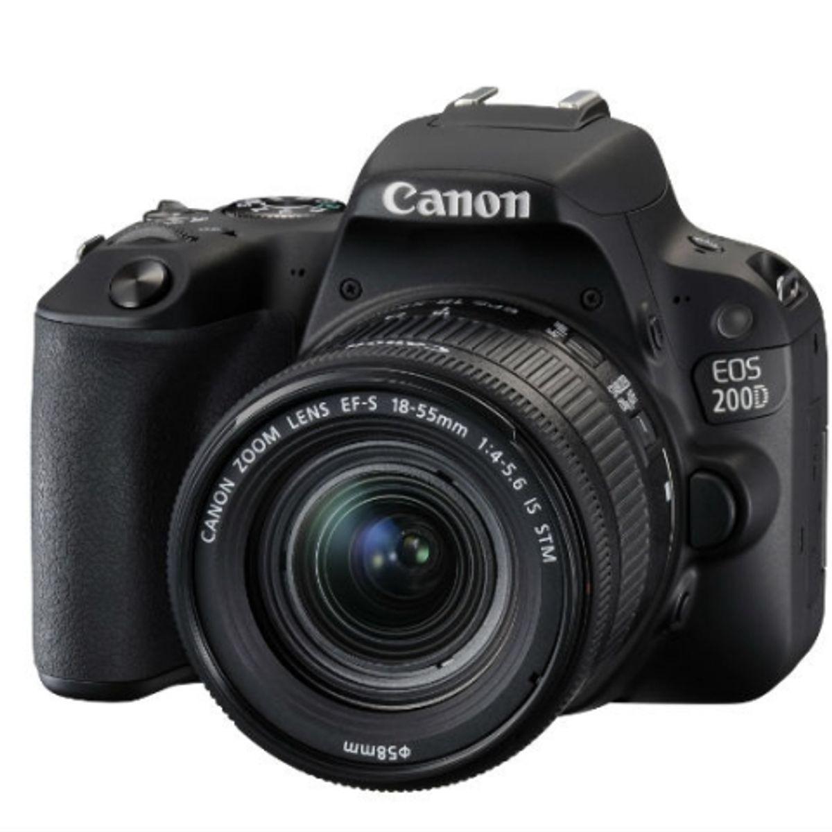 Canon EOS 200D DSLR with 24 2MP APS-C CMOS sensor launched