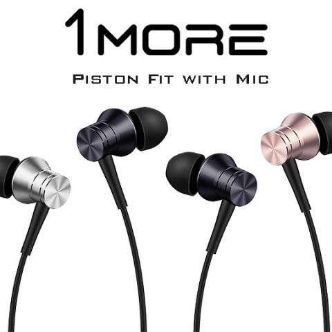 1More introduces Piston Fit In-Ear headphones with MIC in India