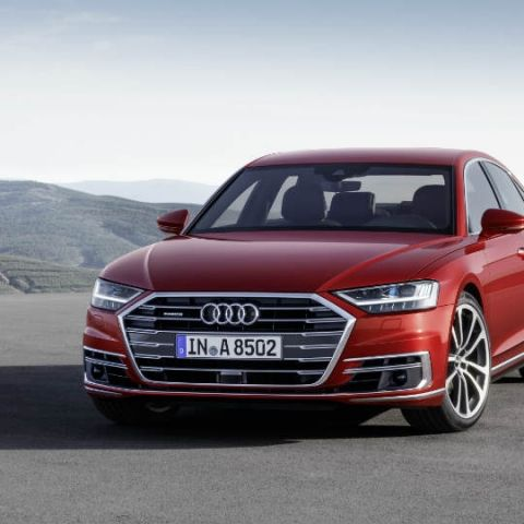 The all-new Audi A8 has a suite of 41 individual driver assist systems in it!