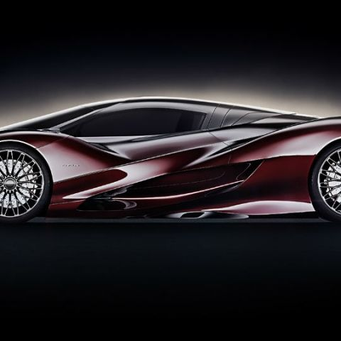 In Pictures: The stunning Jaguar X Concept