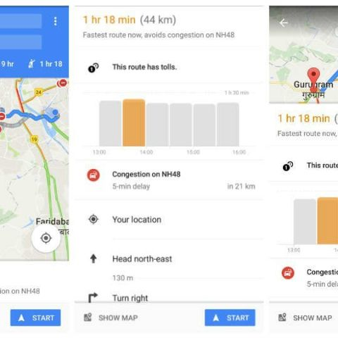 Google Maps will now show you the best time to leave for your ... on