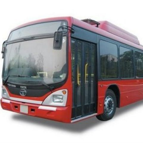 Tata Motors unveils India's first bus to run on bio-methane fuel