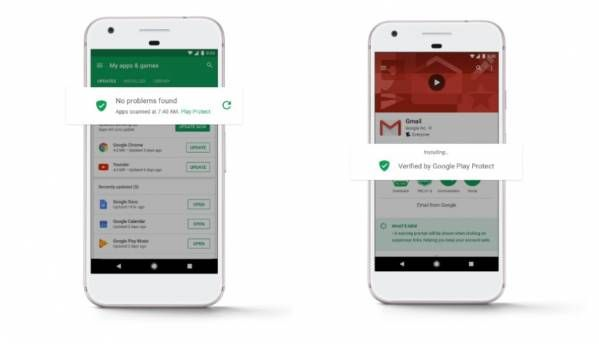 Google starts rolling out its Play Protect feature for the Play Store app