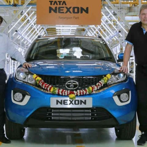 Tata Nexon to go on sale this festive season, production begins