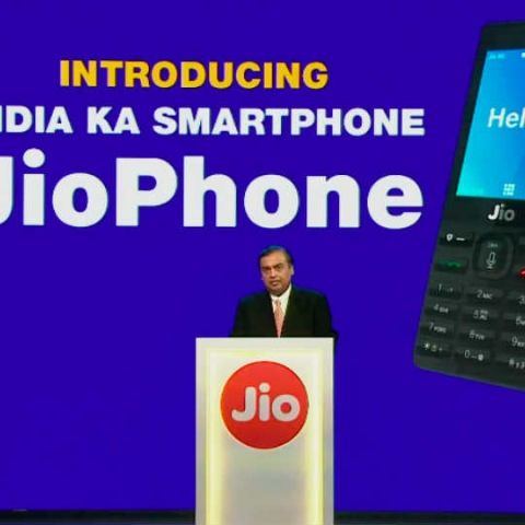 Reliance JioPhone with 4G VoLTE support launched, pre-bookings start from August 24