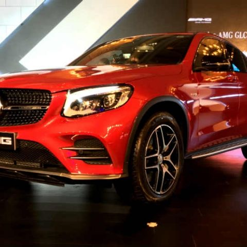 Mercedes-AMG launches the GLC 43 4MATIC Coupe in India at Rs. 74.80 lac