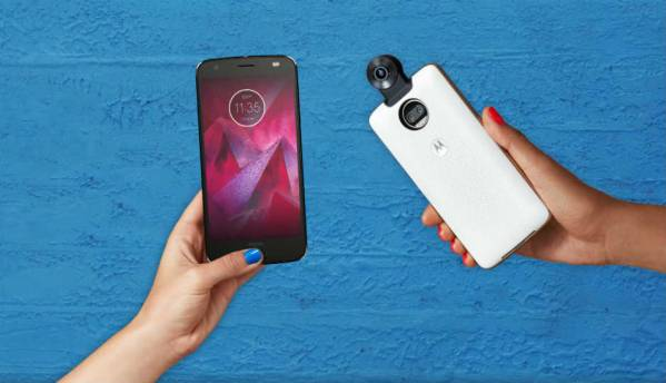 Moto Z2 Force Edition launched with dual rear camera setup, shatterproof display and 360 Camera Mod