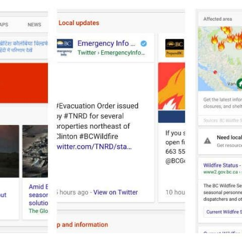 Google adds SOS alerts, disaster updates to Search and Maps