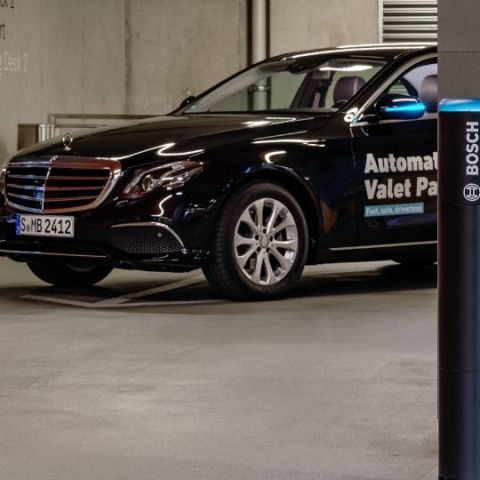 Mercedes-Benz and Bosch have created the world's first autonomous valet parking system