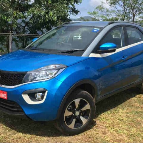 Tata Nexon compact SUV launched in India at introductory prices of Rs. 5.85 lac onward