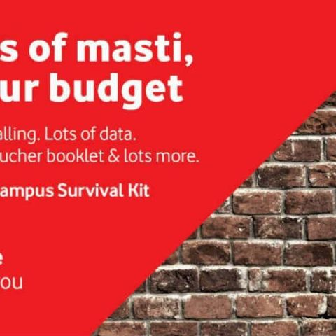 Vodafone's Campus Survival Kit offers 1GB data for 84 days, unlimited calling for students in Delhi-NCR