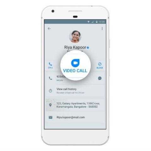 Truecaller integrates Google Duo to offer video calling
