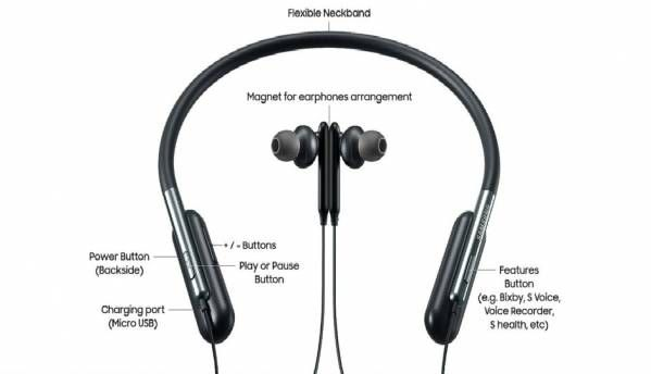Samsung launches U flex headphones with flexible neckband and bluetooth support