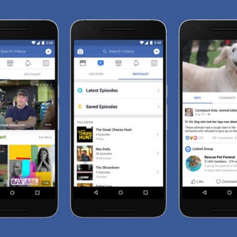 Facebook Watch is now available globally on desktop and Facebook Lite app