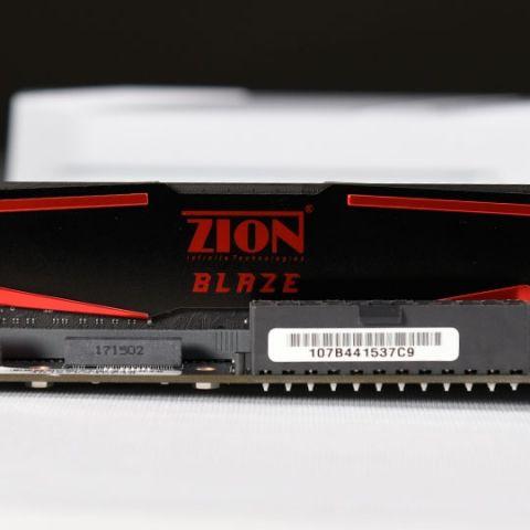 ZION Blaze RAM 8 GB 2400 MHz Review