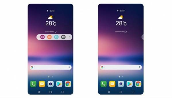 LG V30 to feature improved Always-on Display, Floating Bar instead of Second Screen