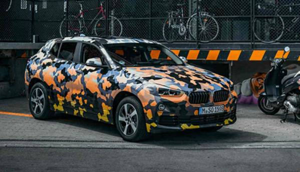 BMW X2 with new ConnectedDrive may come to India in 2018