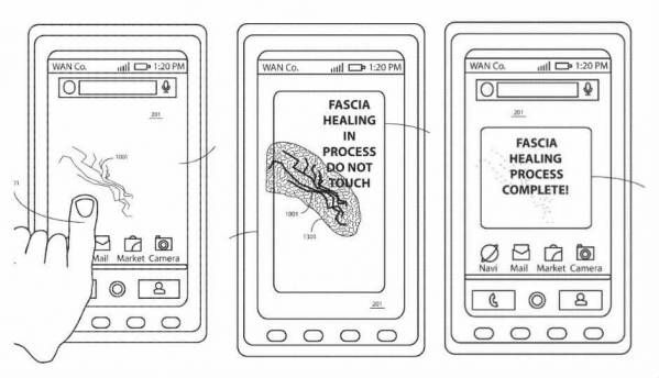 Motorola patents display with self-healing technology