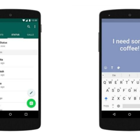 WhatsApp coloured text status update rolling out for Android, iOS app