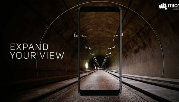 Micromax Canvas Infinity with 18:9 Full Vision display launched at Rs 9,999, will be Amazon India exclusive